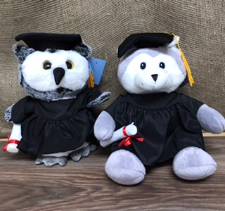 Plush Grad owl or Grad Husky Choose one in special instructions