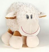 Plush Lamb Stuffed Animal