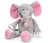 Plush pink elephant