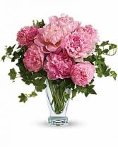 PLUSH PINK Vase Arrangement