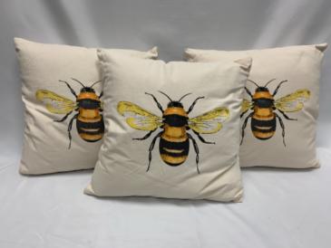 Plush Queen Bee Pillow
