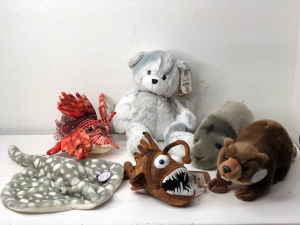 Plush Selection Stuffed Animals (Add-on) in North Bend, OR | PETAL TO THE METAL FLOWERS