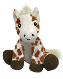 Plush Spotted Horse