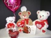 Plush  Valentine  Flowers