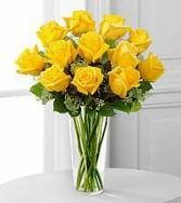 Pocket Full of Sunshine Yellow Rose arrangement