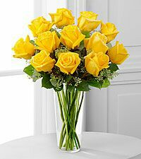 Pocket Full of Sunshine Yellow Rose arrangement
