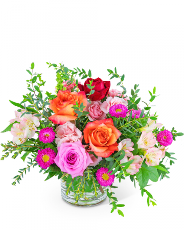 Poetic Rose Flower Arrangement