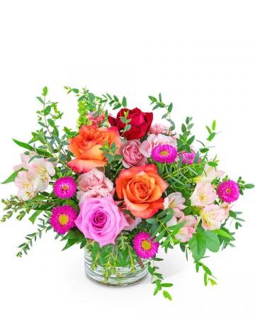Poetic Rose Flower Arrangement