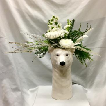 Polar Bear Fresh Floral Design