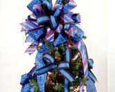 Police Officer Tree Topper Christmas Tree Toppers