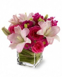 Polish Pinks Flowers  by Enchanted Florist