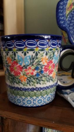 Polish Potttery Mug Gift
