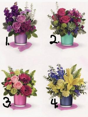 POLISHED JEMSTONE COLLECTION (PLEASE CHOSE WHAT  NUMBER COLOR IN SPECIAL INSTRUCTIONS) in Fort Lauderdale, FL | ENCHANTMENT FLORIST