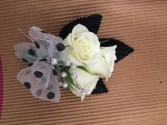Polka Dot Fun Boutonniere