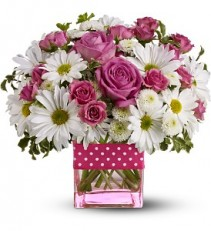 Daisy Dots Bouquet