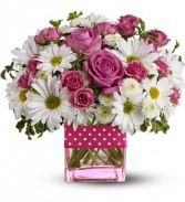 Daisy Dots Bouquet