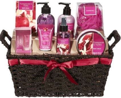 POMEGRANATE u0026 VANILLA BATH u0026 BODY LOTION GIFT SET  sc 1 st  GENEu0027S FLORIST u0026 GIFT BASKETS & POMEGRANATE u0026 VANILLA BATH u0026 BODY LOTION GIFT SET in Germantown MD ...