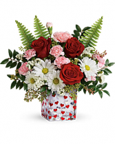 Pop Hearts Vase
