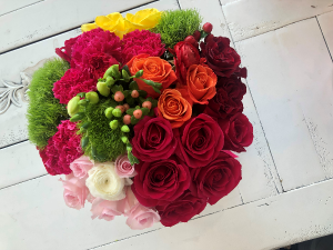 Pop of Color assorted flowers in Sparta, NJ | Bluet Flower Co.