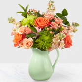 Pop Of Color  Bouquet Vase Arrangement