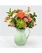 Pop of Color Ceramic Pitcher in Claremont, NH   FLORAL DESIGNS BY LINDA PERRON