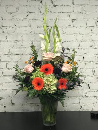 pop of color vase