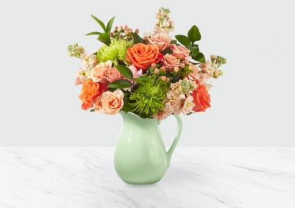 Pop of Color Vase arrangement