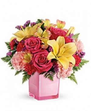 Pop Of Fun Bouquet in Jasper, TX | BOBBIE'S BOKAY FLORIST