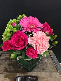 Pop of Pinks Arrangement