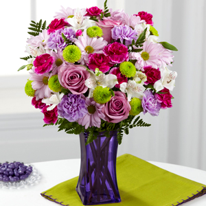 Pop of Purple Bouquet