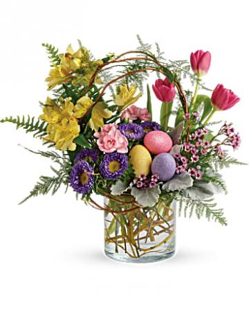 pop of spring Easter