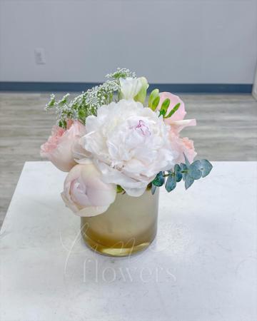 Pop the Prosecco Vase Arrangement