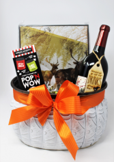 Popcorn and a Puzzle Gift Basket Gift Basket