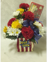 Popcorn Flower Vase Delivery Fort Worth