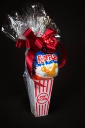 Popcorn Treats Candy/Snack Basket