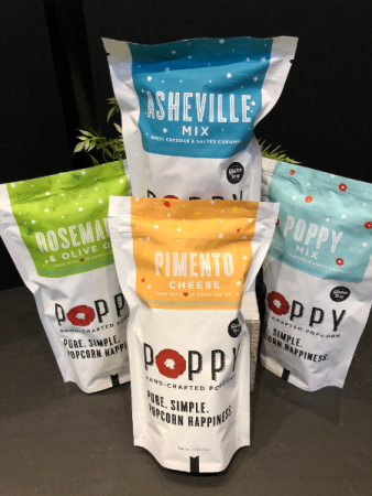 Poppy handcrafted popcorn BOGO special- buy one get one FREE
