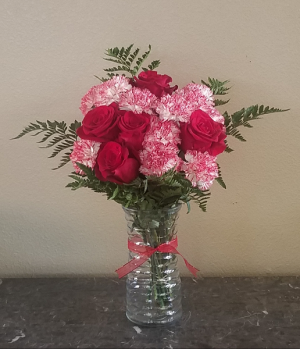 Pop's Candy Cane Bouque Exclusively at Mom & Pops in Ventura, CA | Mom And Pop Flower Shop
