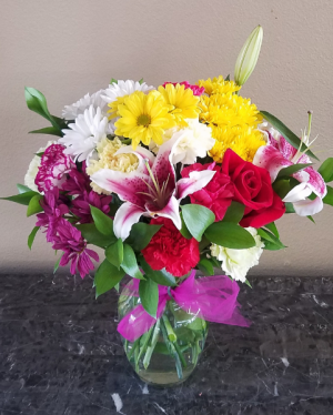 POP'S DESIGNERS CHOICE #3 EXCLUSIVELY AT MOM & POPS in Oxnard, CA | Mom and Pop Flower Shop
