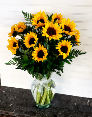 POP'S DZ. SUNFLOWER SPECIAL EXCLUSIVELY AT MOM & POPS in Oxnard, CA   Mom and Pop Flower Shop