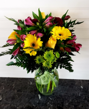 Pop's Gerbs & Roses Exclusively at Mom & Pops in Ventura, CA | Mom And Pop Flower Shop
