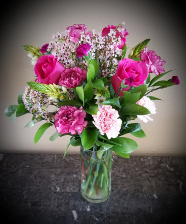 Pop's Pretty in Pink Only at Mom & Pops Flower Shop