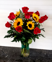 Pop's Rose & Sunflowers Exclusively at Mom & Pops