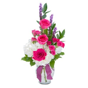 Popular Pink Arrangement in Burnt Hills, NY | THE COUNTRY FLORIST