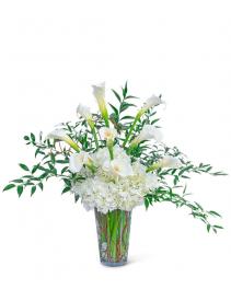 Porcelain Dream Flower Arrangement