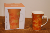 Porcelain Mug - Orange