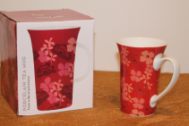 Porcelain Mug - Red