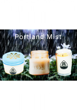 Portland Mist Candles Locally Made By Bridge Nine