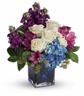 Portrait in Purple Bouquet Teleflora