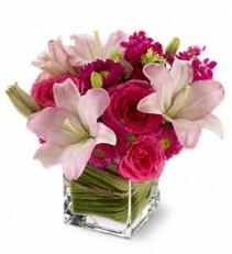 Posh Pinks Floral Bouquet