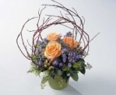 Posies with birch mixed bouquet